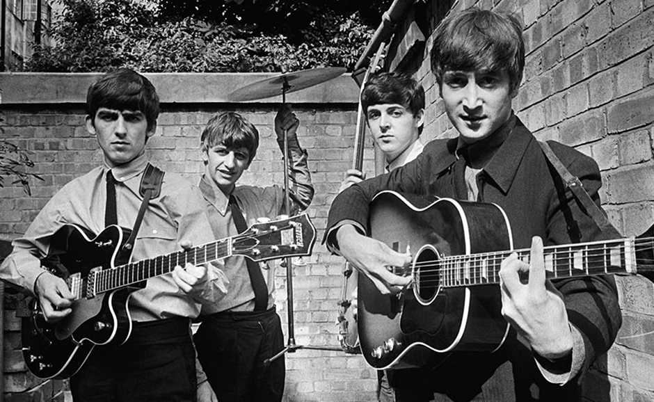 Paul McCartney, John Lennon, George Harrison, Ringo Starr and The Beatles in The Beatles: Eight Days a Week - The Touring Years
