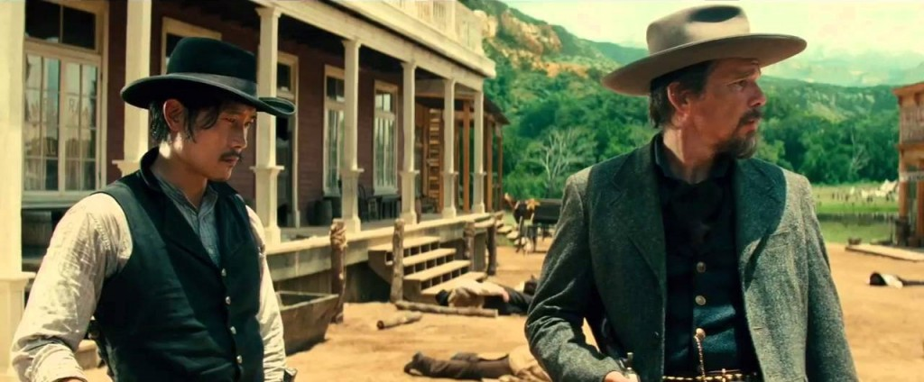 The Magnificent Seven - Byung-hun Lee - Ethan Hawke - Credit IMDB