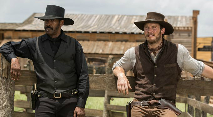 The Magnificent Seven - Denzel Washington and Chris Pratt - Credit IMDB