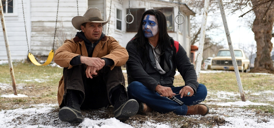 Gil Birmingham and Jeremy Renner in Wind River - Credit IMDB