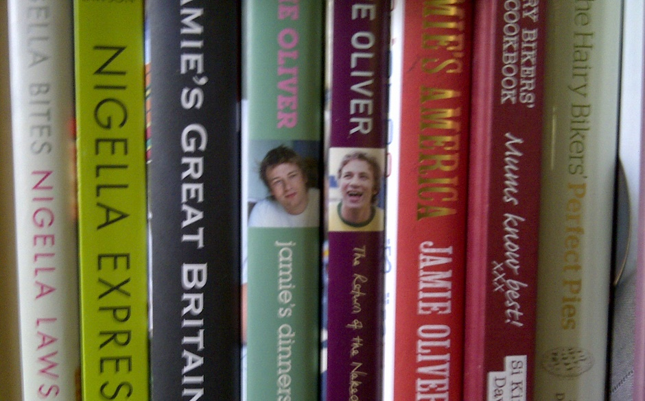 Selection of celeb cook book