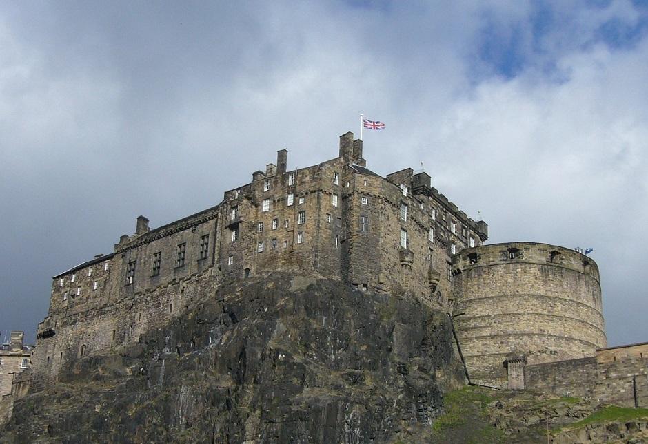 Edinburgh castle in cloud Top Cities