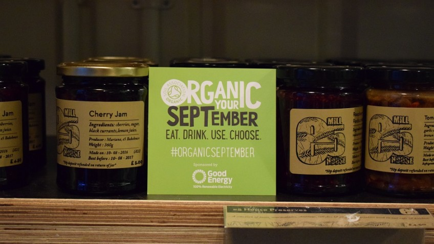 Soil Association launches top food swaps for Organic September