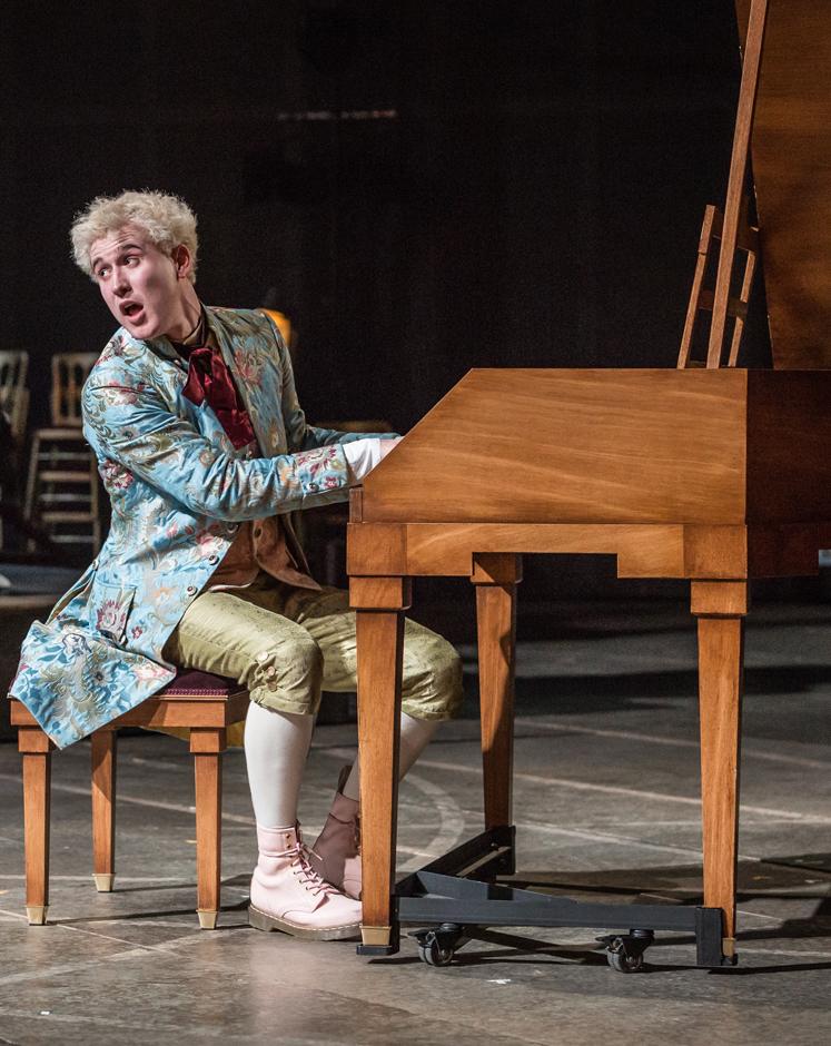 Amadeus - Adam Gillen - Wolfgang Amadeus Mozart - Image by Marc Brenner