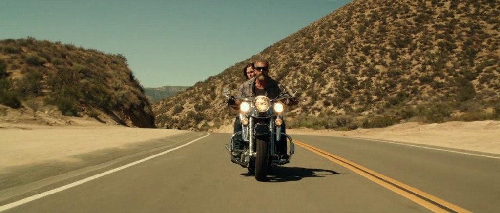 Mel Gibson and Erin Moriarty in Blood Father - Credit IMDB