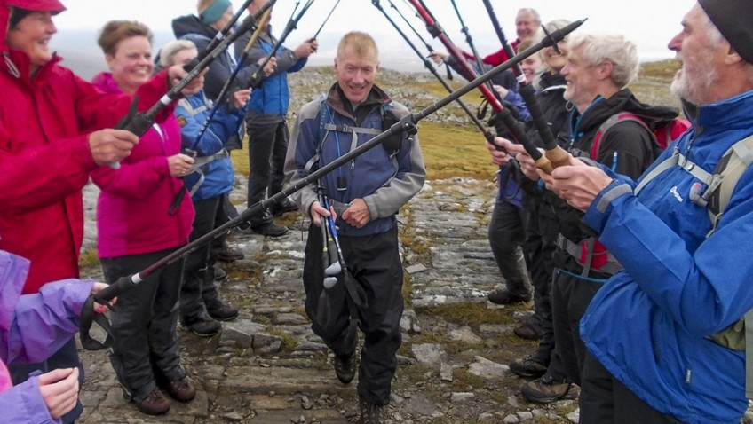 Pensioner has finished his fourth round of Munro mountains