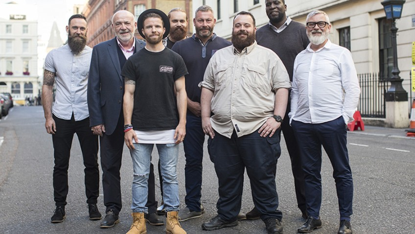 Beards are taking on bowel cancer this Christmas