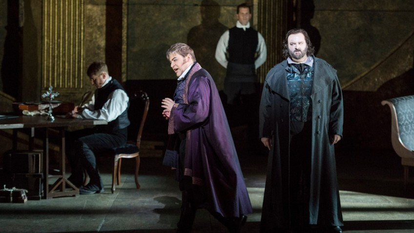 Can Tosca save a Republican sympathiser from a traitor's death?