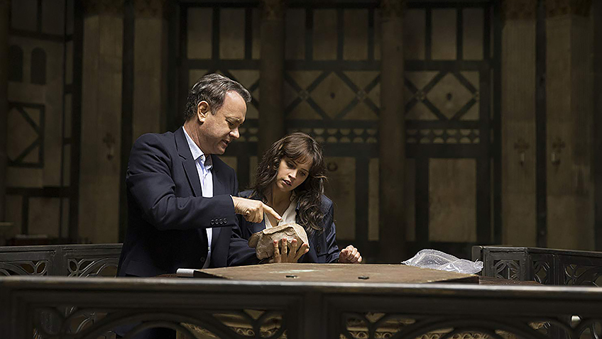 Tom Hanks and Felicity Jones in Inferno - Credit IMDB