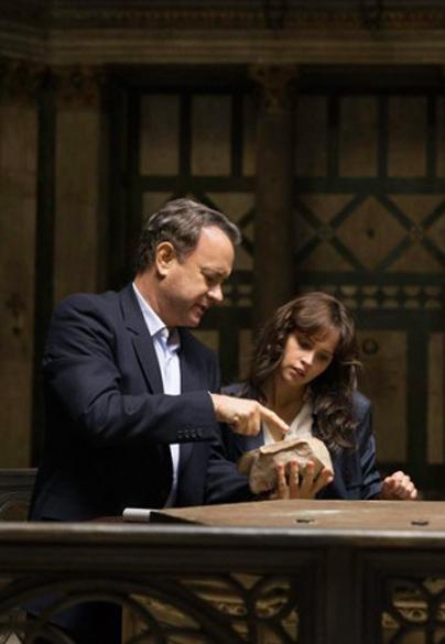 Tom Hanks, Felicity Jones in Inferno - Credit IMDB