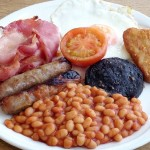 Secret to long life a full English breakfast every morning