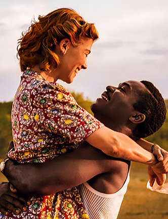 David Oyelowo and Rosamund Pike in A United Kingdom - Credit IMDB