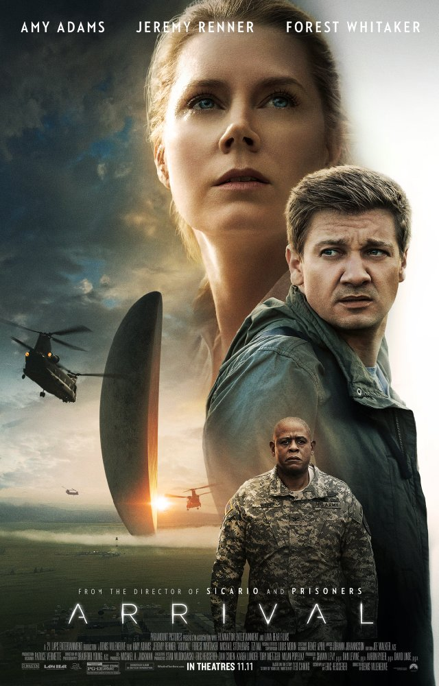 Arrival cover - Credit IMDB