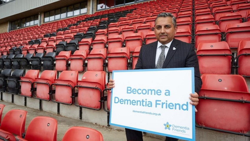 Dementia Friends kick off new football campaign
