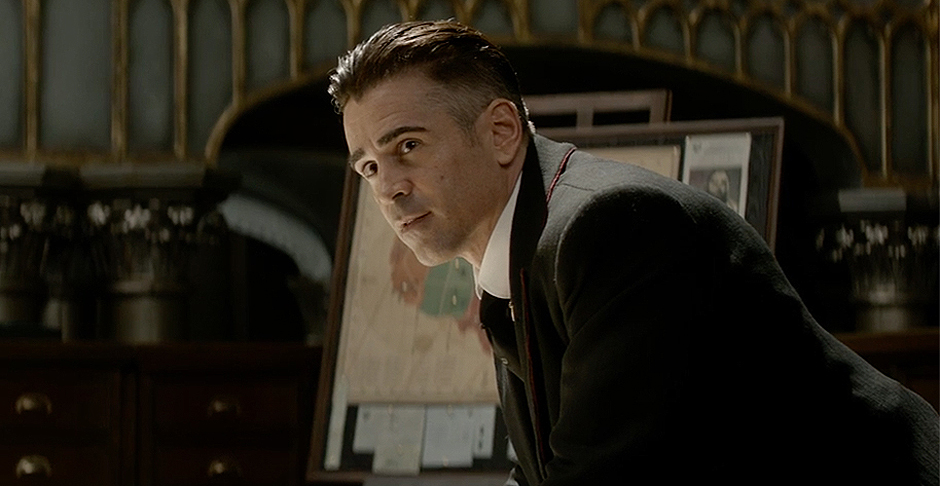 Colin Farrell in Fantastic Beasts and Where to Find Them - Credit IMDB