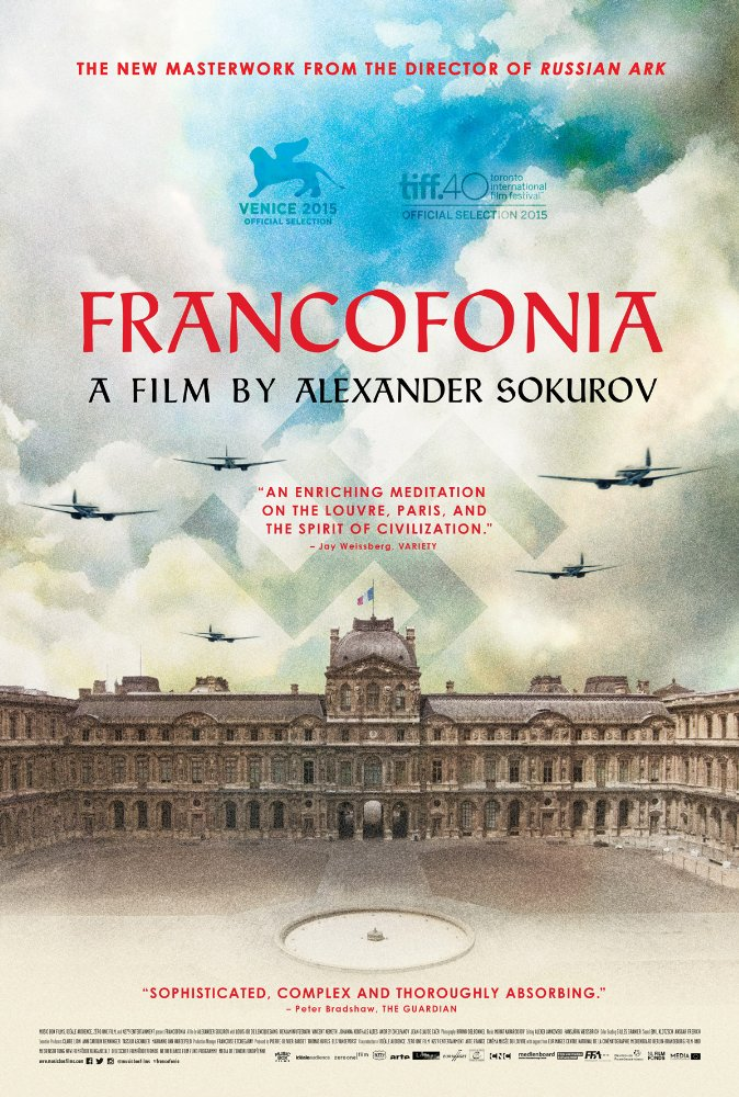 Francofonia cover - Photo by Music Box Films - © Music Box Films 2016 - Credit IMDB