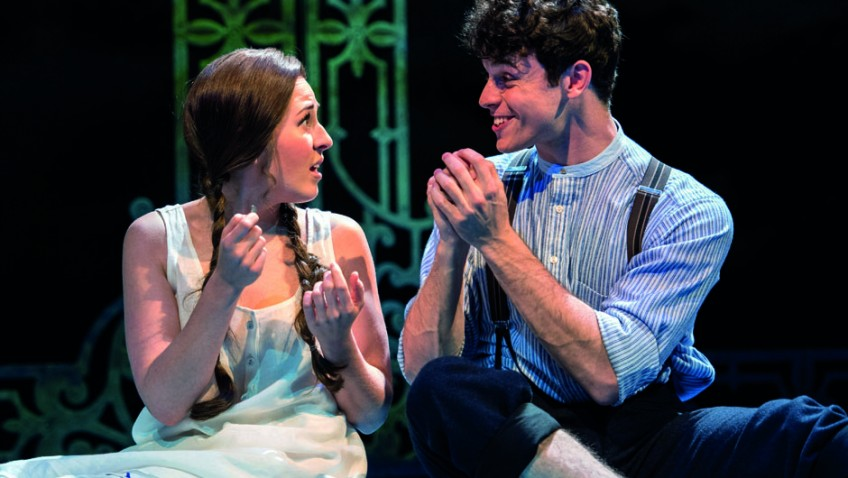 Half a Sixpence is the flash, bang, wallop musical