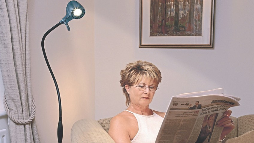 Revolutionary reading light is perfect for the long winter nights ahead