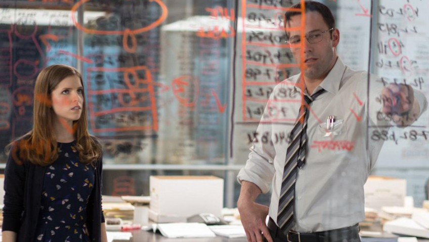 Ben Affleck plays another superhero in this taxing thriller