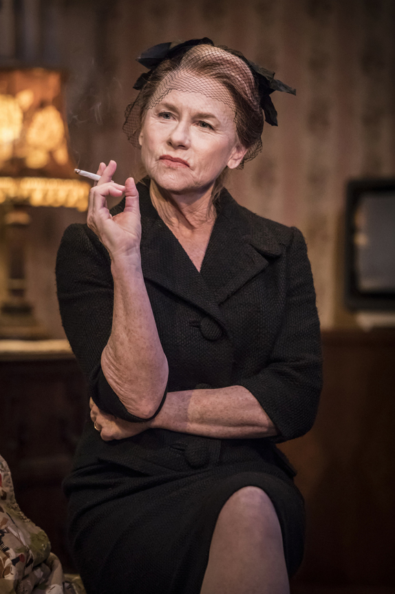 Amy Madigan in Buried Child - Credit Johan Persson
