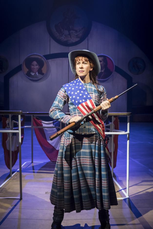 Anna Jane Casey in Annie Get Your Gun - Credit Johan Persson