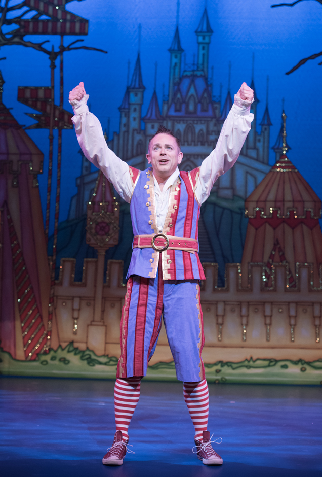 Sleeping Beauty - Chris Jarvis as Chester - Credit Craig Sugden
