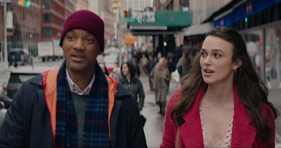 Will Smith and Keira Knightley in Collateral Beauty - Credit IMDB