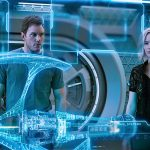 A bumpy ride in outer space with two hot movie stars
