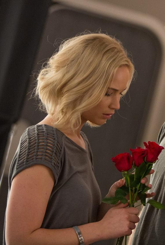 Jennifer Lawrence in Passengers - Credit IMDB
