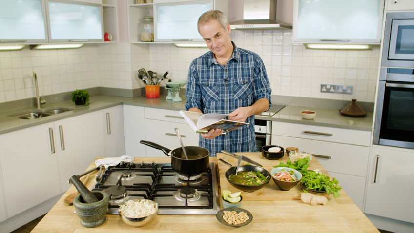 Boring Brits? Think again! Celebrity chefs show you how to make exotic dishes at home