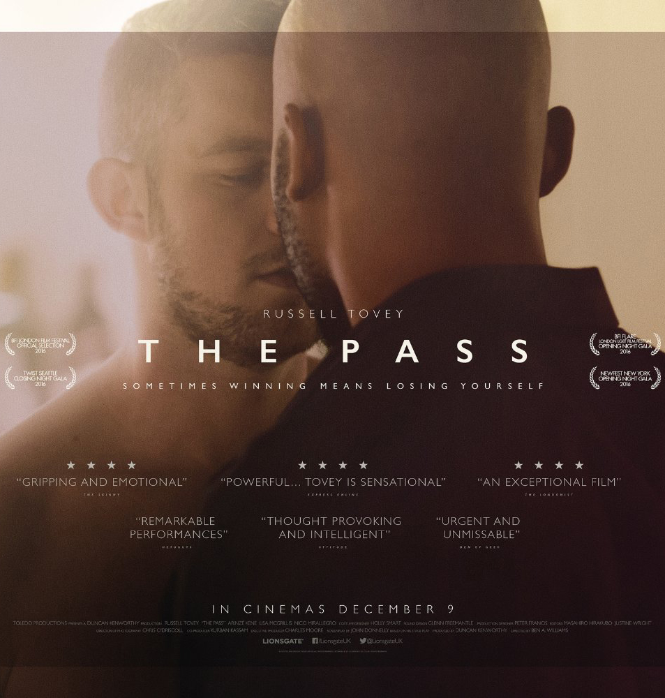 The Pass - Russell Tovey and Arinzé Kene - Credit IMDB