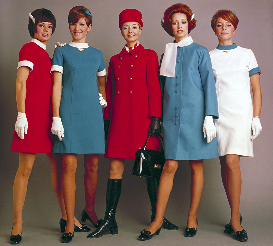 Air Canada - Flight attendant uniform 1969-1973