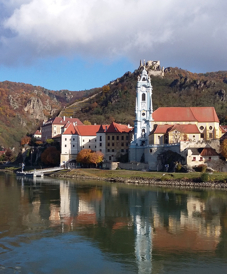 A church on the Danube