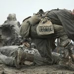 Mel Gibson's heroic WWII film, tells a compelling unusual story