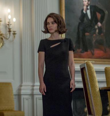 Natalie Portman as Jacqueline Kennedy in Jackie - Credit IMDB