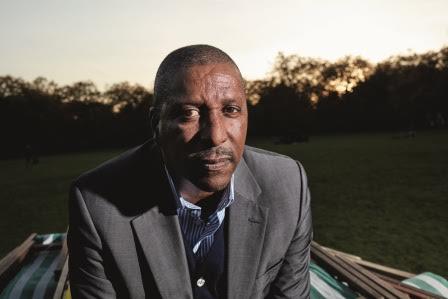 Viv Anderson for Prostate Cancer © Dennis Morris assisted by Bolade Banjo