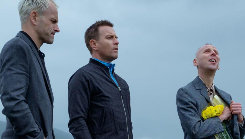 Ewan McGregor, Jonny Lee Miller and Ewen Bremner in T2 Trainspotting - Credit IMDB