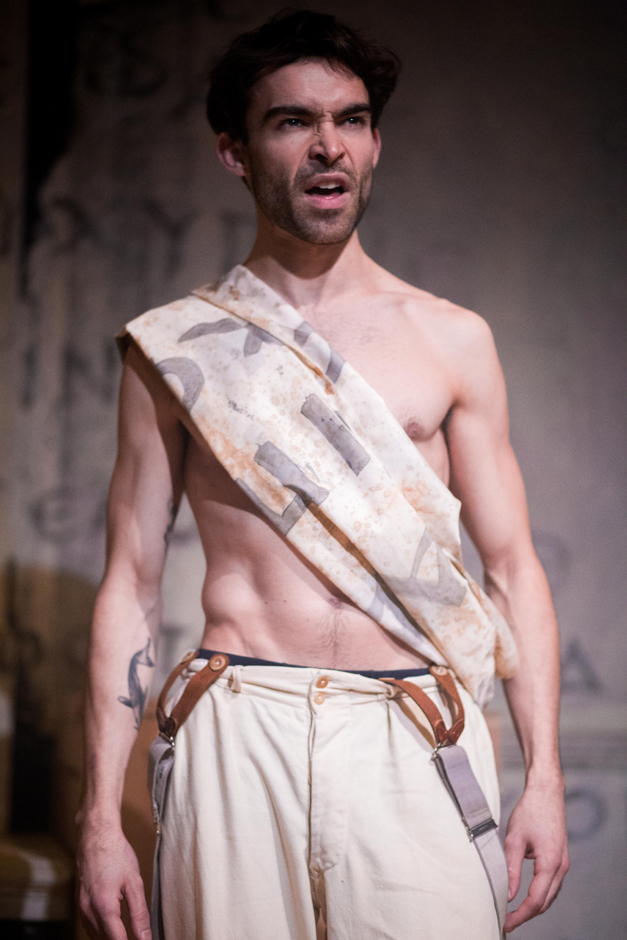 Tom Purbeck in Trackers of Oxyrhynchus - Credit S R Taylor Photography