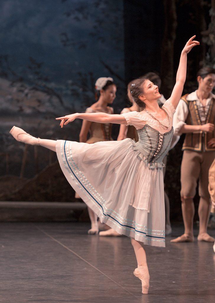 Alina Cojocaru as Giselle - Copyright Laurent Liotardo