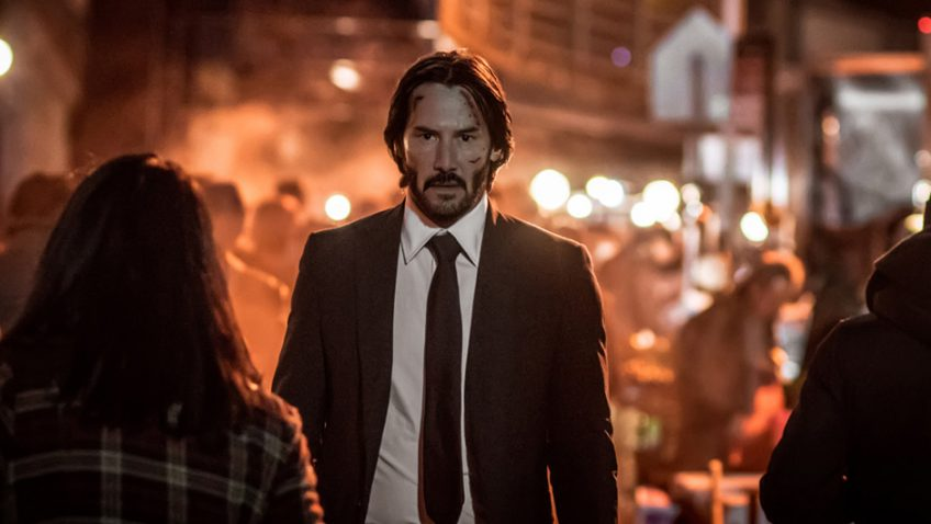 Retirement just got harder for the charismatic Keanu Reeves in John Wick