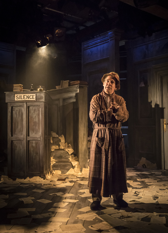 Tom Hollander in Travesties - Credit Johan Persson