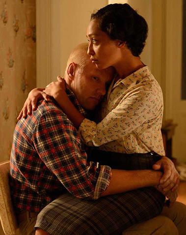 Joel Edgerton and Ruth Negga in Loving - Credit IMDB
