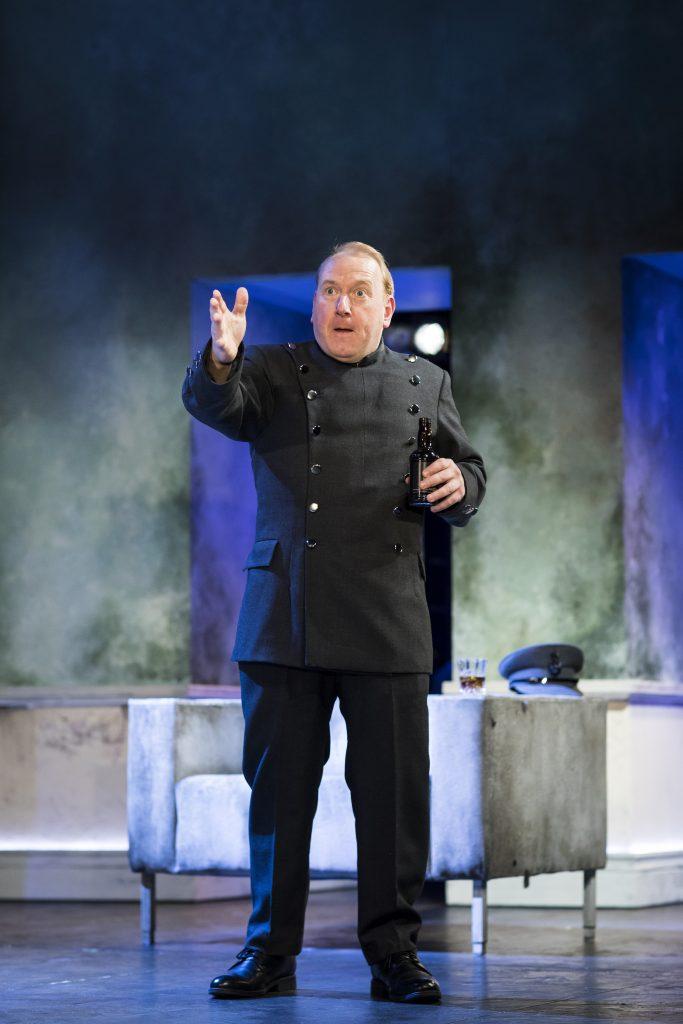 Adrian Scarborough in Don Juan in Soho - Credit Helen Maybanks