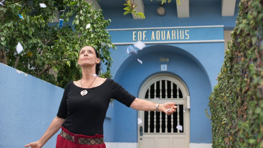Sonia Braga dazzles as a fearless widow fighting property developers