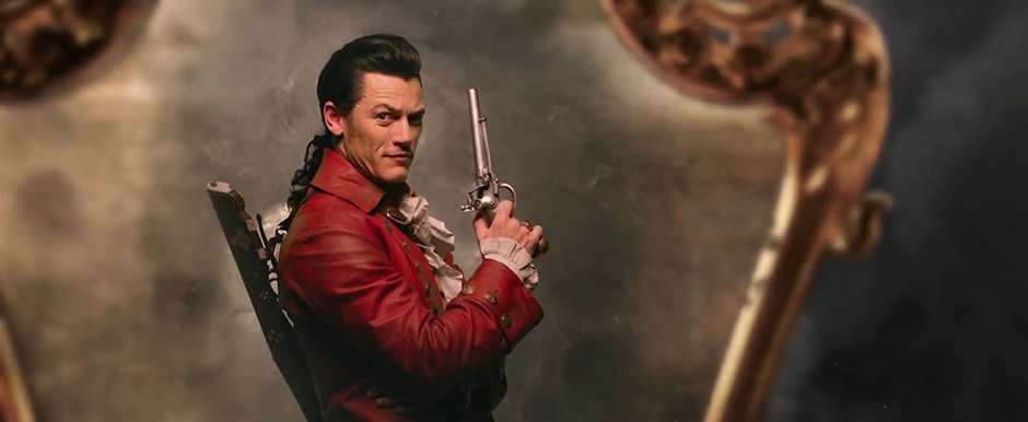 Luke Evans in Beauty and the Beast - Credit IMDB