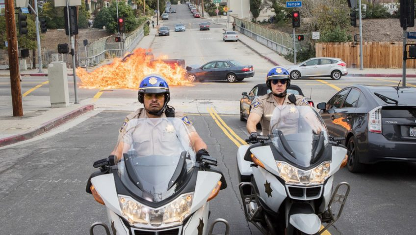 An American buddy-cop comedy minus the comedy