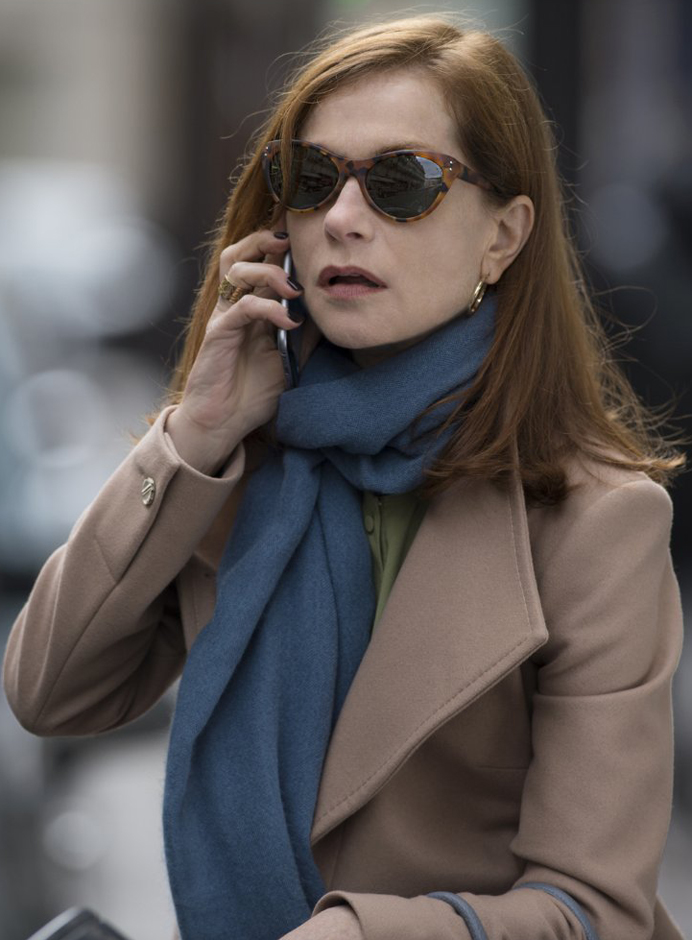 Isabelle Huppert in Elle - Credit IMDB