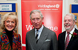 HRH The Prince Of Wales who is the Patron of English Tourism Week