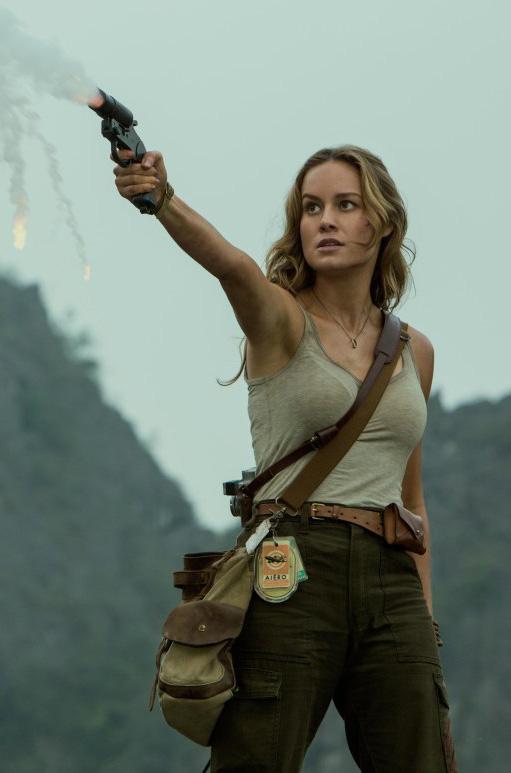 Brie Larson in Kong: Skull Island - Credit IMDB