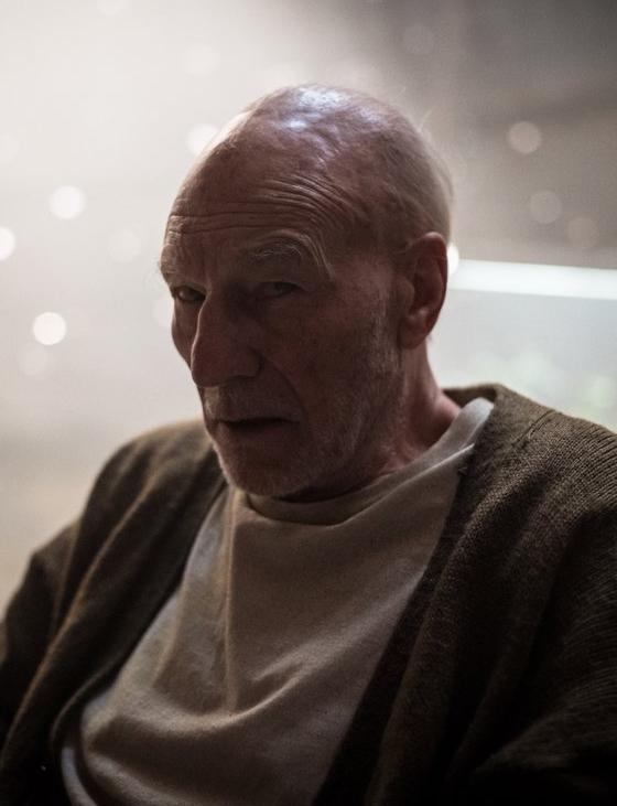 Patrick Stewart in Logan - Credit IMDB